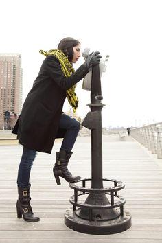 Carolina's Ethical Street Style: Choolips scarf.