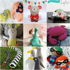 The Cutest Free Stuffed Animal Patterns By Leslie ..Softies, Plushies, Stuffies, or Stuffed Animals. Any name will do. This collection of The Cutest Free Stuffed Animal Patterns will put a smile on your face.