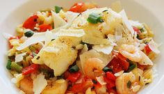 #foodyphotog  Seafood pasta with shaved parmesan   Enter to win a Cuisinart Cookware Set