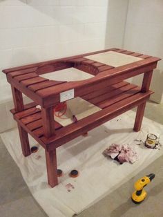 6 DIY Big Green Egg Table Projects Shelterness | Shelterness