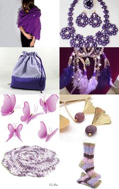 Dreaming of Purple by Athénaïs on Etsy--Pinned with TreasuryPin.com