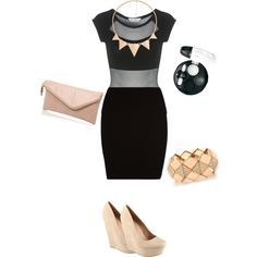 Let's go out. Clubbing outfit