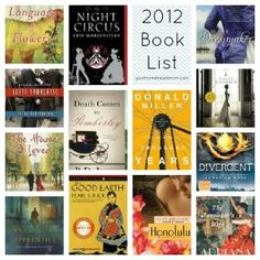 My 2012 Book List. What I read in 2012.