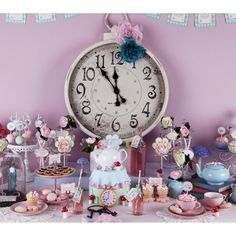 Alice in Wonderland Inspired Birthday Party Printables Collection