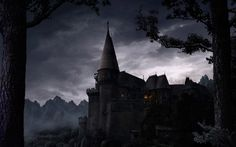 HD Wallpaper Background ID:90023 Dark castle Dark fantasy art Fantasy castle