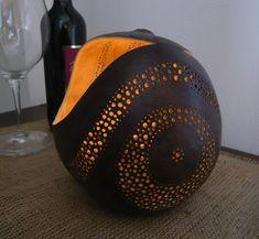 gourd garden lantern Garden Lanterns, Gourds, Riding Helmets, Interior, Home Decor, Pumpkins, Decoration Home, Indoor, Room Decor