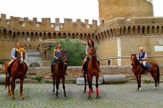 HORSE RIDING VACATION IN ROME