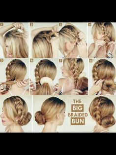 This fb page step by step hair tutorials is great