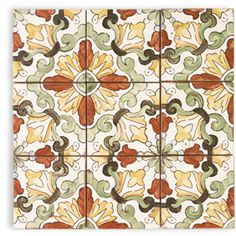 Handpainted Tiles: Lisbon Pattern - Contempo