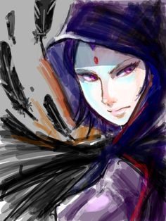 Raven by GG-tegaki on deviantART