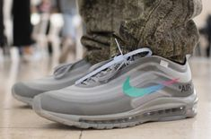 reputable site ae7cd 8acaf During his OFF-WHITE show at Paris Fashion Week, Virgil Abloh revealed two  new colorways of his Nike Air Max 97