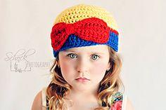 Princess hats - paid crochet pattern