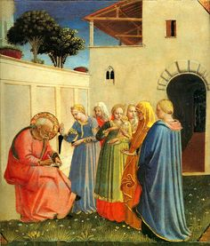 The Naming of John by Fra Angelico