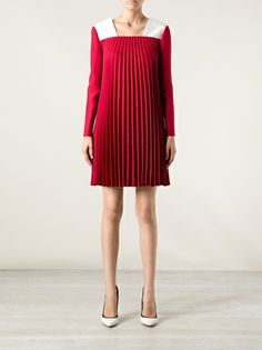 VALENTINO - pleated dress 7