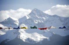 Everest.  A little unrealistic but still a dream.