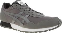 ASICS Grey Curreo Mens Trainers Inspired by vintage running shoes from the 70s