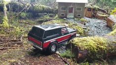 Two Trx4 Ford Bronco Scale Run.