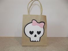 Monster+High+Inspired+Skull+Party+Favor+Bag+Set+of+by+armywife711,+$10.00