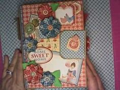 March 2015 G45 Home Sweet Home - Mini Album by Tammy Merrill