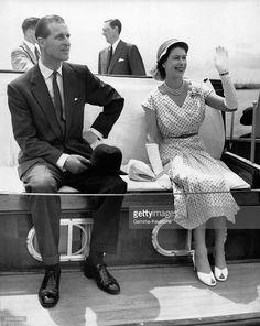 Queen Elizabeth II and the Duke of Edinburgh in Nigeria, 1956