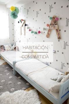 shared kids room, habitacion compartida