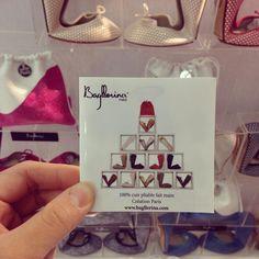 Mini Bagllerina catalogue. U can put it in ur pocket and see Bagllerina everywhere ^.~ #Bagllerina #Paris #PremiereClasseCambon #Sunnyday #ParisFashionWeek #BoothD09
