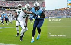 Delanie Walker of the Tennessee Titans