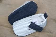 Baby boy shoes loafers sneakers grey by MartBabyAccessories
