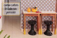 Como colocar tecido na parede: tudo que você precisa saber # tutorial para colar tecido na parede (com cola especial) - dcoracao.com - blog de decoração e tutorial diy