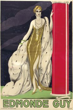 lesanneeselegantes: Edmonde individuo por Umberto Brunelleschi, 1928.