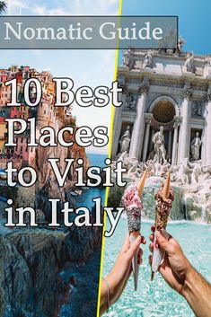 10 Best Places to Visit in Italy - NomaticTravel Best Countries To Visit, Cool Countries, Cool Places To Visit, Southern Europe, Italy Italy, Italy Travel