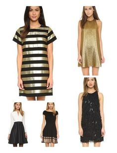 Add some sparkle and fringe to your holiday look!