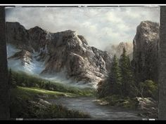 Paint with Kevin Hill - A Rugged Mountain - YouTube