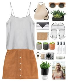 """sun side"" by martosaur ❤ liked on Polyvore featuring J.Crew, Emilio Pucci, 3.1 Phillip Lim, ASOS, Byredo, Givenchy, Shop Succulents, Chanel, Bodum and Lux-Art Silks"