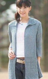 10 Free Adult Jacket Crochet Patterns | The Steady Hand