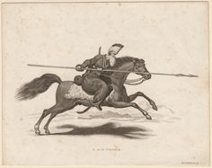 Don Cossack. (1813) From the Anne S.K. Brown Military Collection originally.