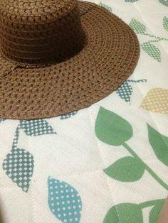 セリア麦わら帽子