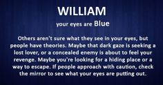 What says your eyes color about you?