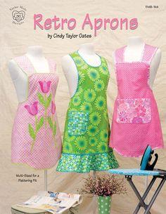 Lazy Girl | Blog » Day Z Dozen Blog Hop – 'Retro Aprons' by Cindy Taylor Oates