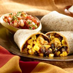 Slow-Cooked Chicken Burritos