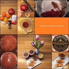 Orangen-Granatapfel-Marmelade a la Arno mit einem Hauch Zimt … soooo lecker! | Das Leben ist zu kurz, um schlechten Wein zu trinken! | Bloglovin'