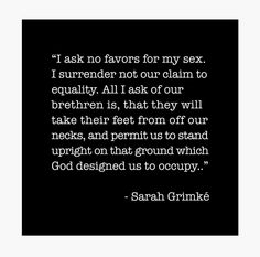 'I ask no favors for my sex.Sarah Grimke Quote' Hardcover Journal by corbrand Hooker Heels, Political Junkie, All I Ask, Social Injustice, Intersectional Feminism, Different Quotes, Good Heart, Sociology, Social Science