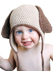Doggy Earflap Hat Pattern - Electronic Download