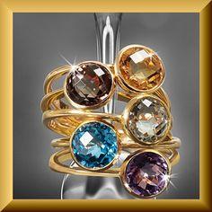 Love the colors! Gouden Ringen