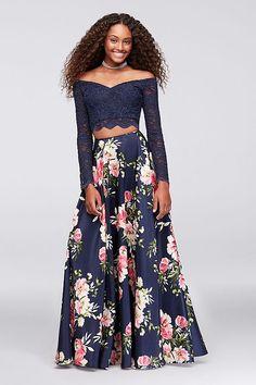2019 Prom Dress Letter Print Buckle Velvet Crop Top+Mesh Skirt Slim Formal Dress