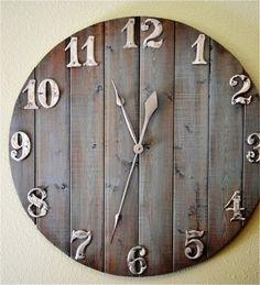 Сделать часы своими руками (1)