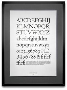 Letterpress typeface
