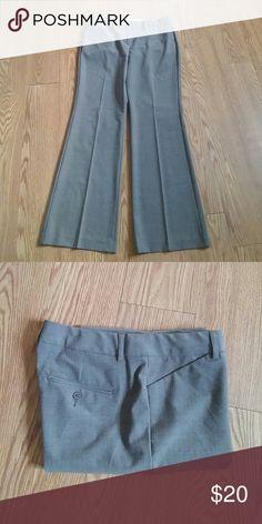 Express Design Studio Editor Slacks size 10R Express Design Studio Editor Pants, Barely Boot, Heather Grey, Size 10 Regular. Express Pants Boot Cut & Flare