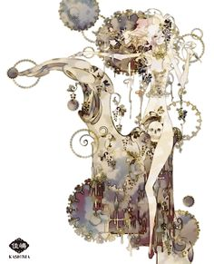 Art by Kashima. 「樹齢千年にして初めての契り」