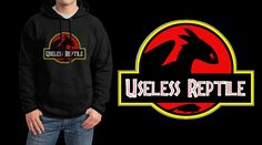 My tribute to How to Train Your Dragon and that hilarious quote by Hiccup. Jurassic Park/Toothless logo! ;) Perfect for any HTTYD fans!Sweatshirts